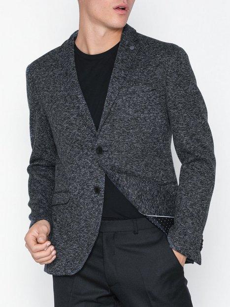 Selected Homme Slhslim Magnum Blazer B Ex Blazere jakkesæt Mørkeblå mand køb billigt