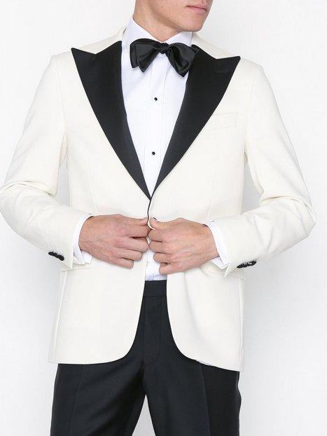 Oscar Jacobson Frampton Blazer Blazere jakkesæt Offwhite mand køb billigt