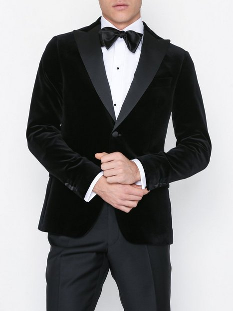 Oscar Jacobson Elder Blazer Blazere jakkesæt Black - herre