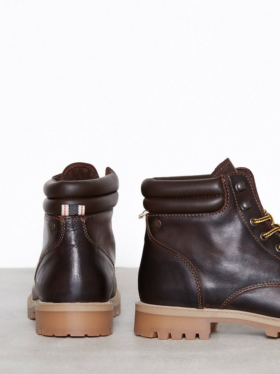JFWSTOKE LEATHER BOOT COFFEE BEAN