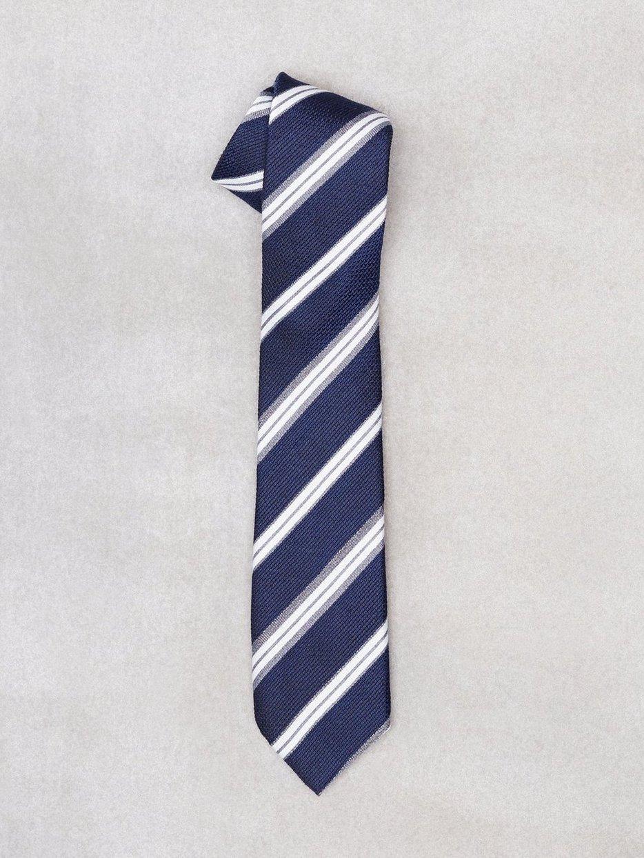 3a3b13daa6f8 Slhvalde Tie B - Selected Homme - Navy - Ties - Accessories - Men ...