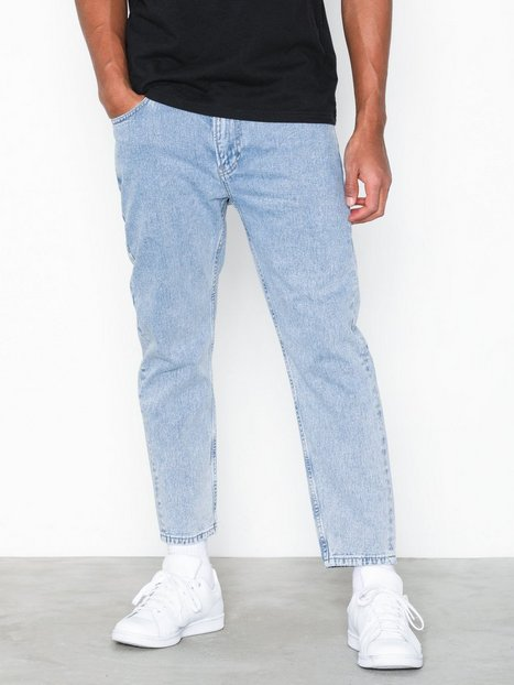 Tommy Jeans Relaxed Cropped Randy Eghtsl Jeans Blue - herre