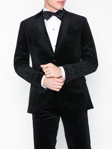 Premium by Jack Jones Jprvelvet Blazer Blazere jakkesæt Sort - herre