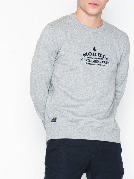 Morris Walker Sweatshirt Trøjer Grey - herre