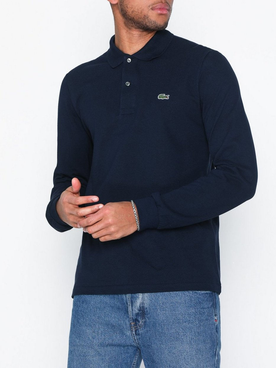 cff91f9aaae Chemise Col Bord - Lacoste - Navy - Polo Shirts - Clothing - Men ...