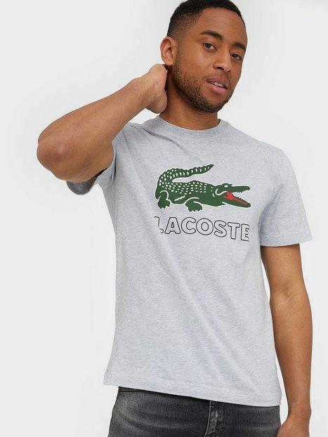 Lacoste T Shirt T shirts undertrøjer Sølv - herre