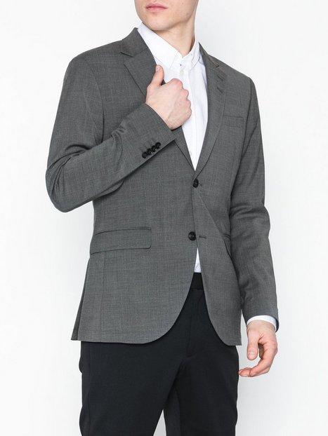 Tiger of Sweden Jamonte Ul Blazere jakkesæt Light Grey Melange mand køb billigt