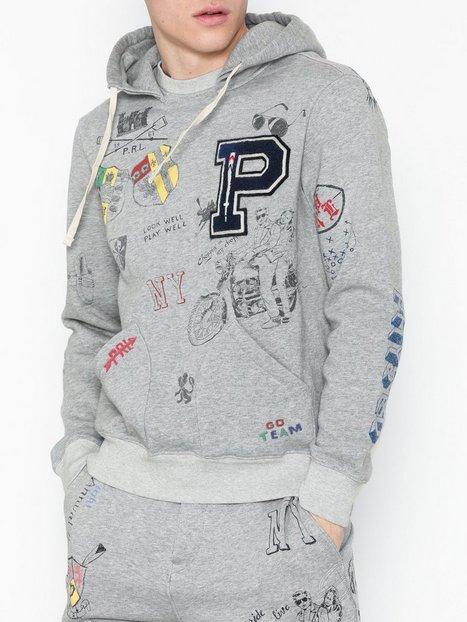 Polo Ralph Lauren Long Sleeve Knit Trøjer Grey mand køb billigt