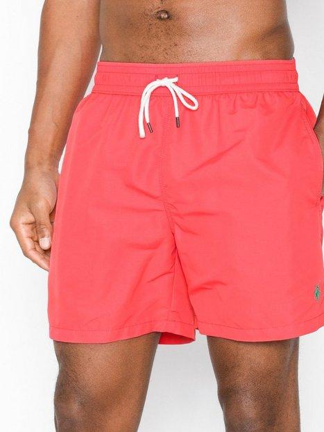 Polo Ralph Lauren Traveler Swim Badetøj Red mand køb billigt