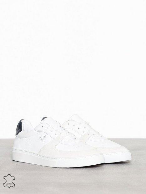 Gant Denver Cupsole low Sneakers Hvid Blå - herre