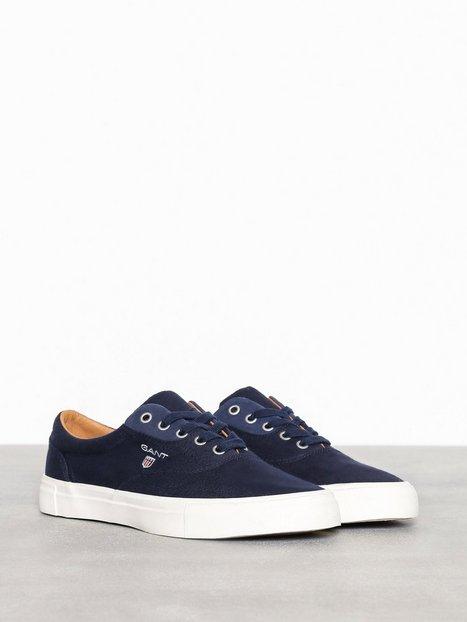 Gant Hero Low lace shoes Sneakers tekstilsko Marine mand køb billigt