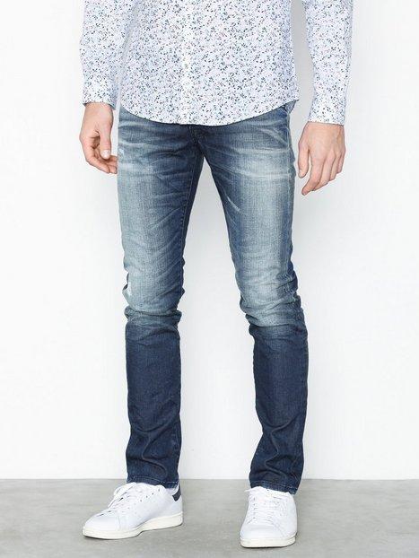 Jack Jones Jjiglenn Jjfox Bl 857 Sts Jeans Blå - herre