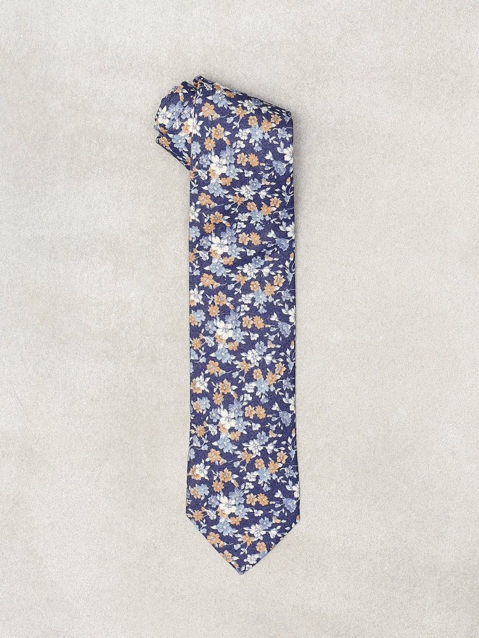 Printed Half Bottle Tie