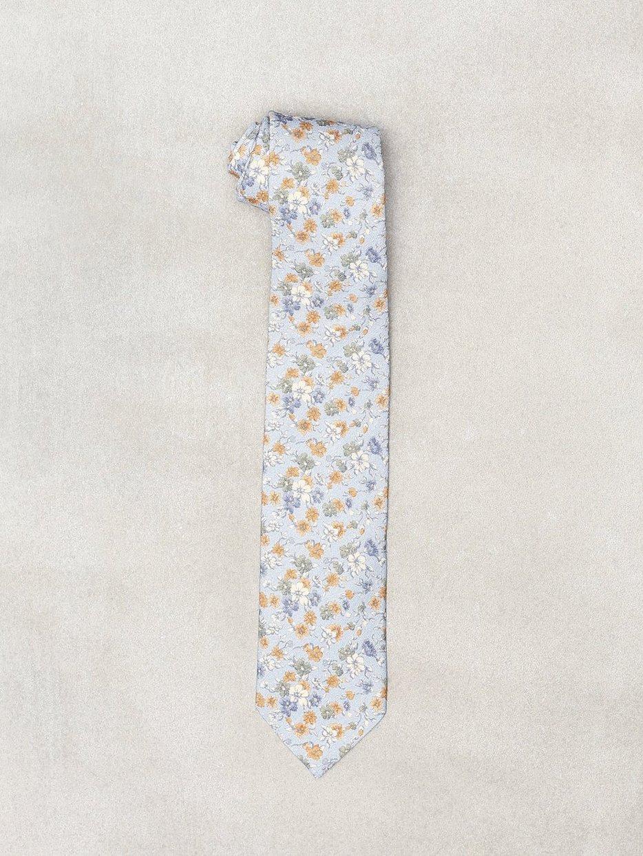 Printed Half Bottle Tie