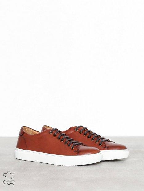 Human Scales Herbert 191 Sneakers tekstilsko Cognac - herre