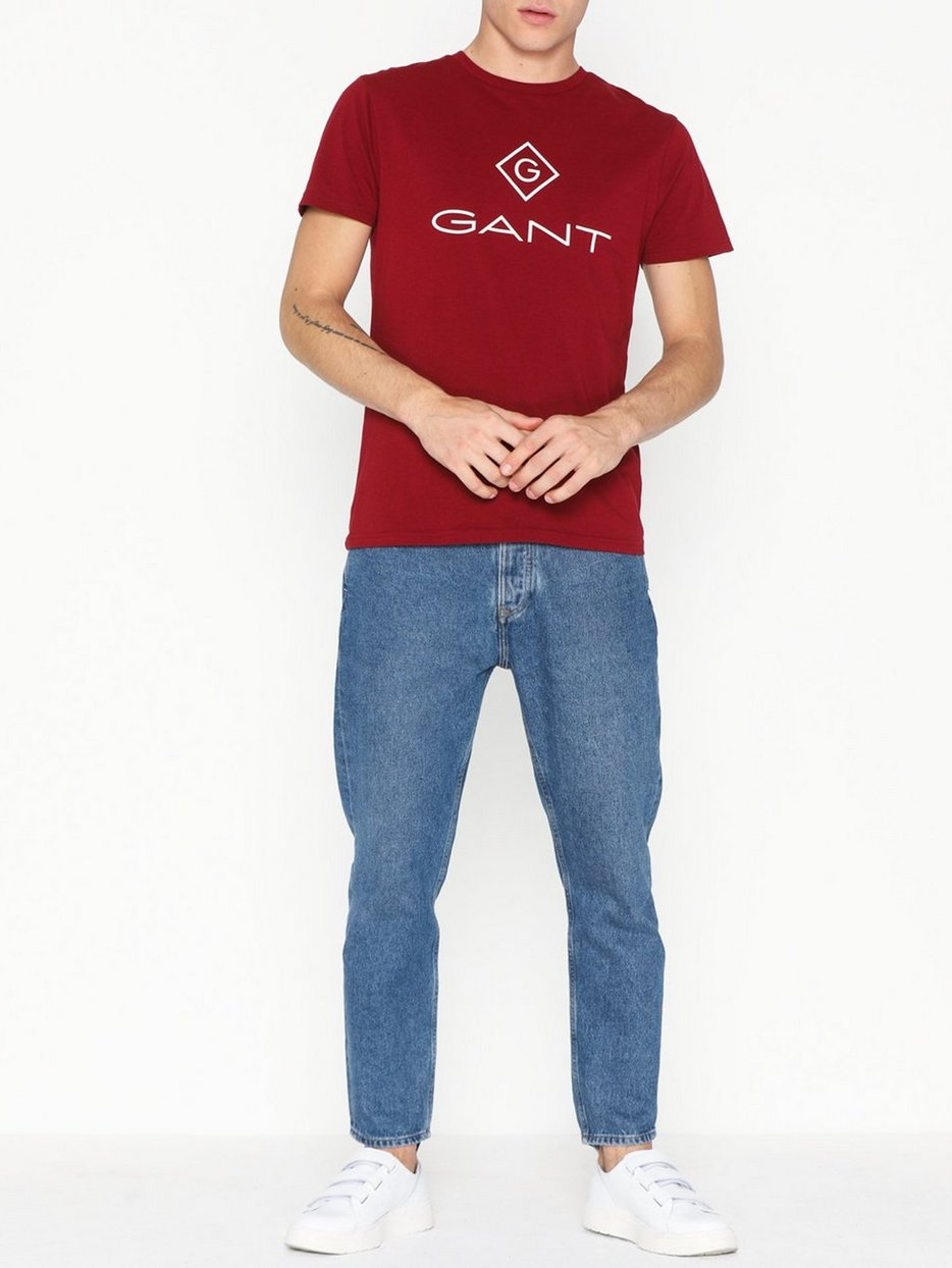 D1. GANT LOCK - UP SS T - SHIRT