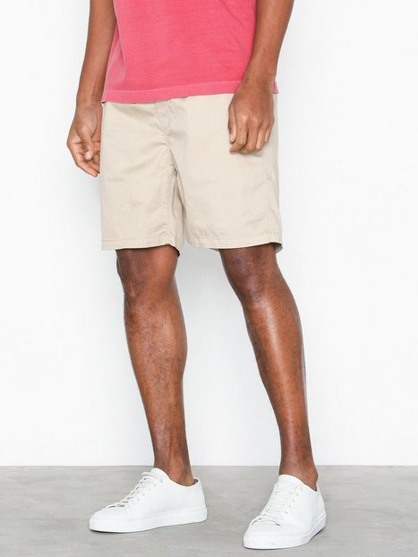 Gant O2. Relaxed Embroidered Short Shorts Sand - herre