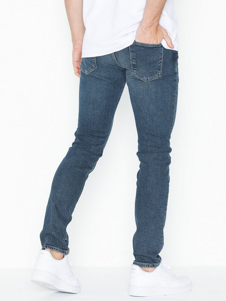 SLHSLIM-LEON 1463 MID. BLUE JEANS W
