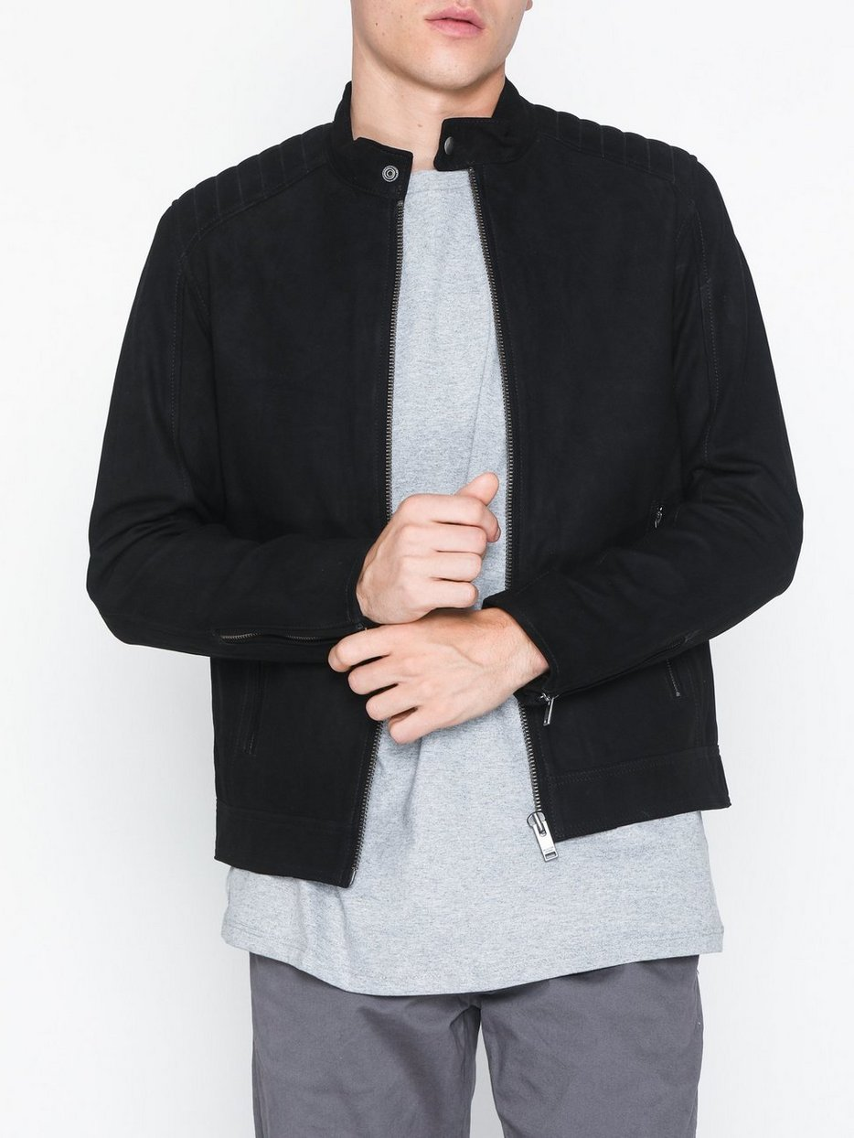 SLH R-03 RACER SUEDE JKT W