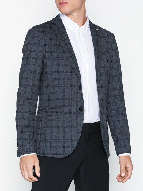 Selected Homme Slhslim Fred Blazer B Noos Blazere jakkesæt Mørkeblå - herre
