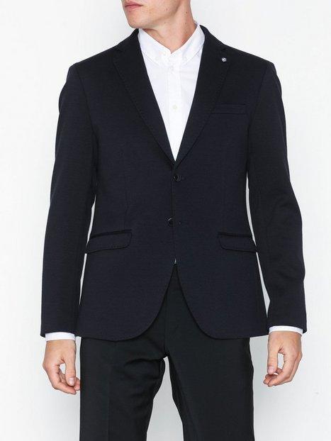 Selected Homme Slhslim Shaft Blazer B Noos Blazere jakkesæt Mørkeblå - herre