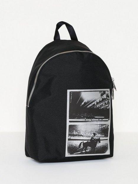 Calvin Klein Jeans Warhol Cpsle Bp Print Foil Tasker Black - herre
