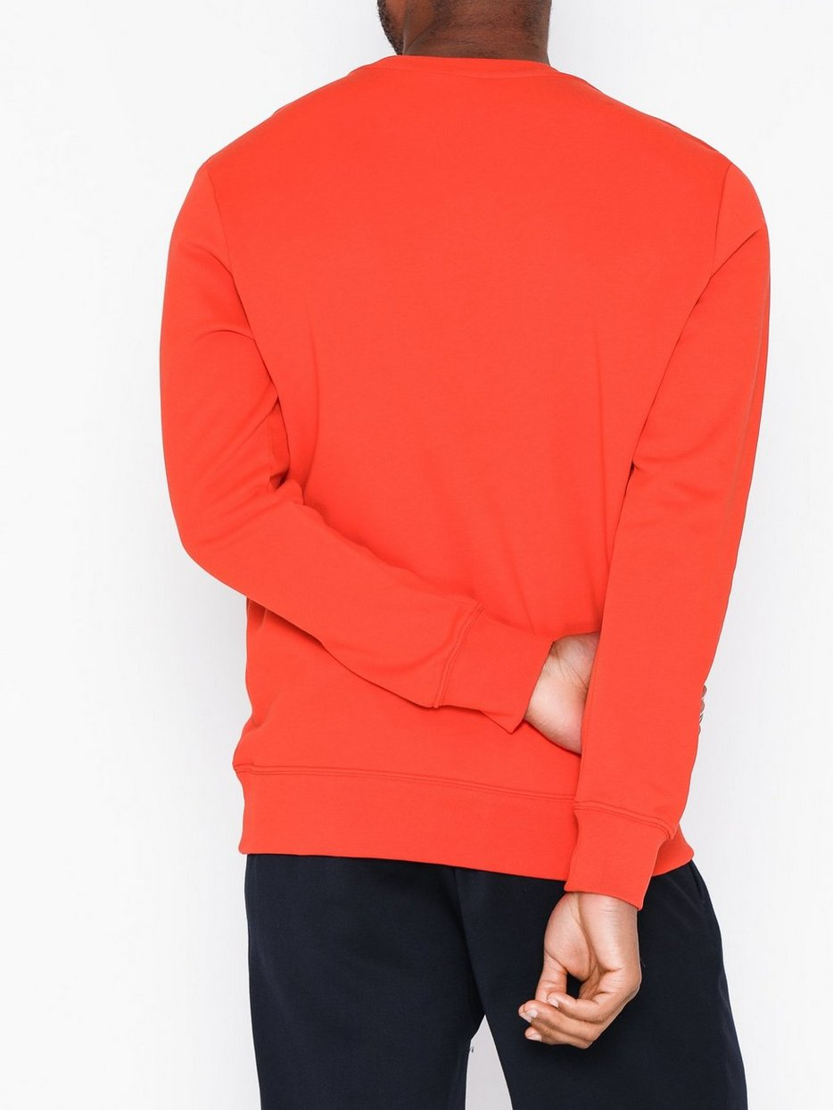 Throw C-Neck Cotton Sweat