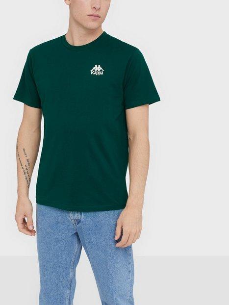 KAPPA T Shirt S S Auth Wollie T shirts undertrøjer Grøn Brun - herre