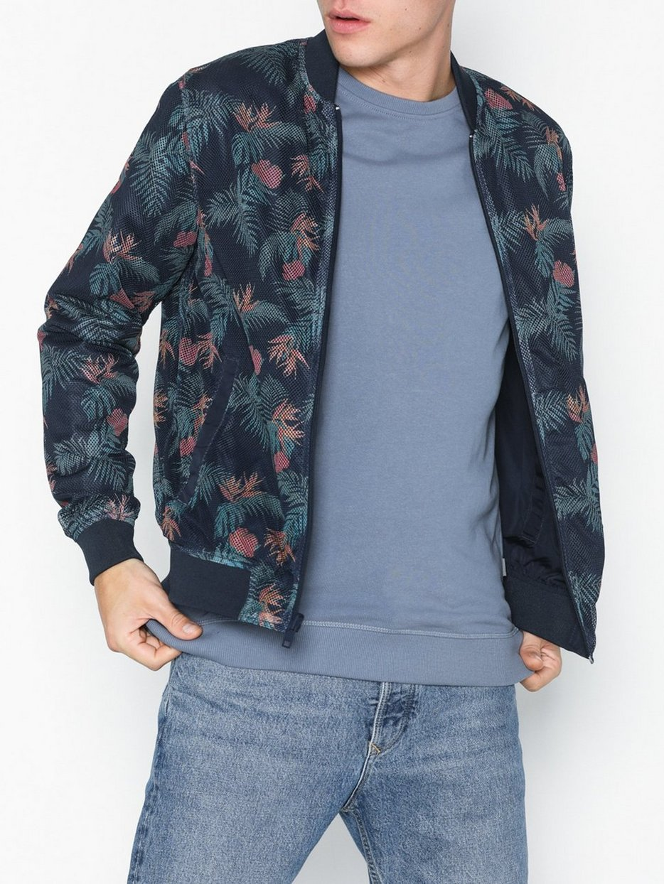 JORSPRING REVERSIBLE BOMBER JACKET