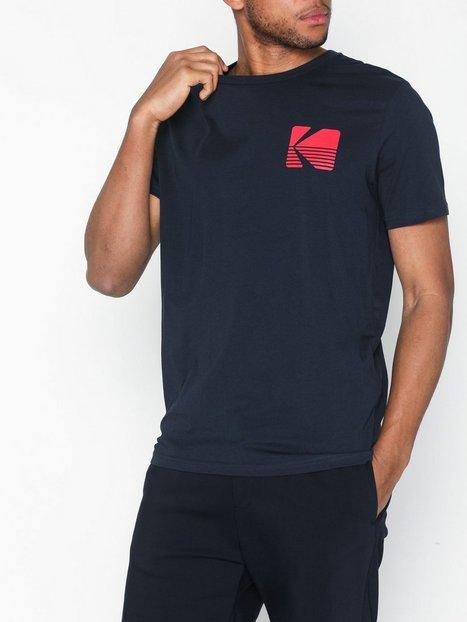 Jack Jones Jorsnap Tee Ss Crew Neck T shirts undertrøjer Blå - herre