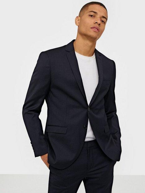Selected Homme Slhslim Mylobill Navy Blazer B Noos Blazere jakkesæt Mørkeblå mand køb billigt