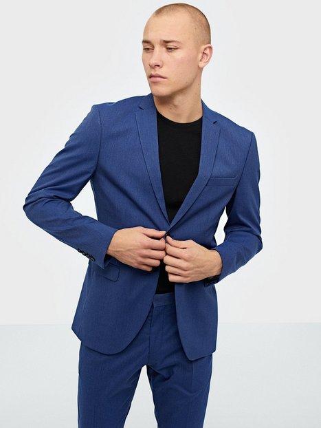 Selected Homme Slhslim Mylologan Insig. Blue Blz B Blazere jakkesæt Mørkeblå - herre