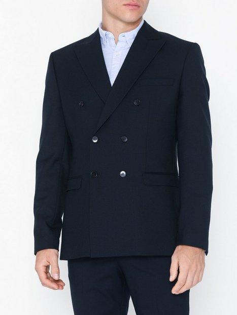 Selected Homme Slhslim High Db Navy Blazer B Blazere jakkesæt Mørkeblå - herre