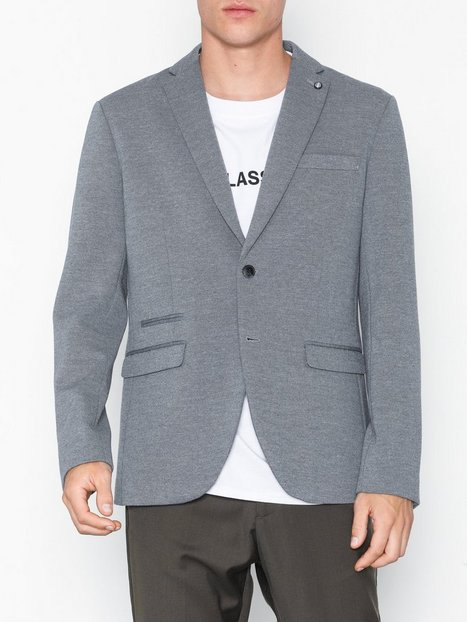 Selected Homme Slhslim New Blazer B Blazere jakkesæt Grå - herre