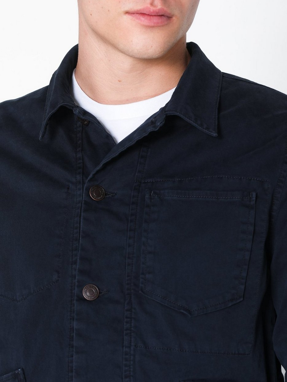 SLHTOKYO NAVY COTTON JACKET W