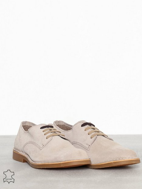 Selected Homme Slhroyce Derby Light Suede Shoe W Elegante sko Lysebrun - herre