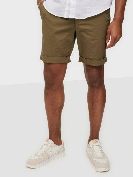 Selected Homme Slhstraight Paris Shorts W Noos Shorts Lysebrun - herre