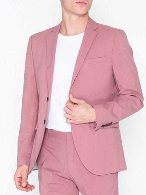 Selected Homme Slhslim Mylologan Pink Blazer B Blazere jakkesæt Lys Rosa - herre