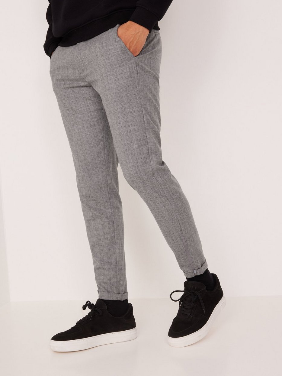 Pisa Cross Lt Grey