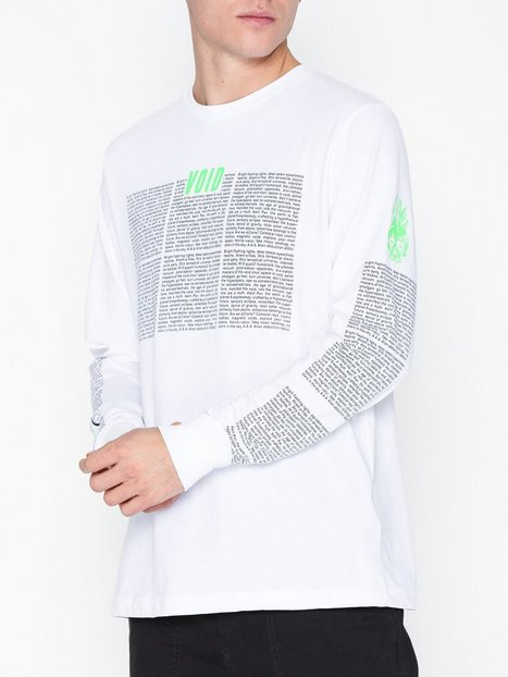 Diesel T Just Ls New T Shirt Trøjer White - herre