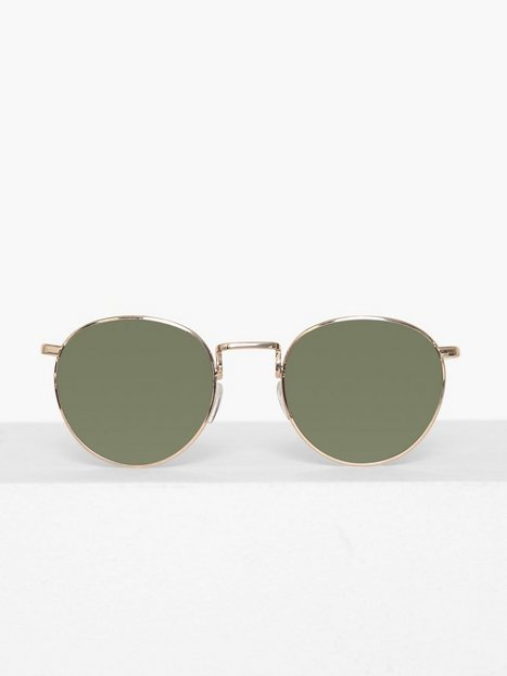 Selected Homme Slhthomas Sunglasses Solbriller Gold - herre