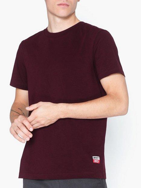 Whyred Art Whyred T shirts undertrøjer Burgundy - herre