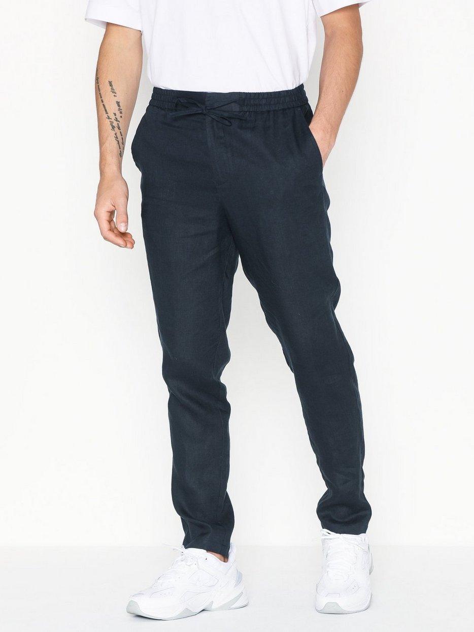 SLHTAPERED-LINEN PANTS B