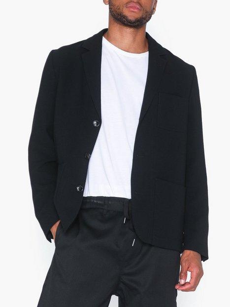 Filippa K M. Mitch Crepe Jacket Blazere jakkesæt Black mand køb billigt