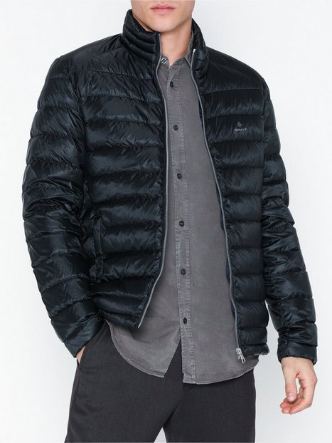Gant D1. The Light Down Jacket Jakker frakker Black - herre