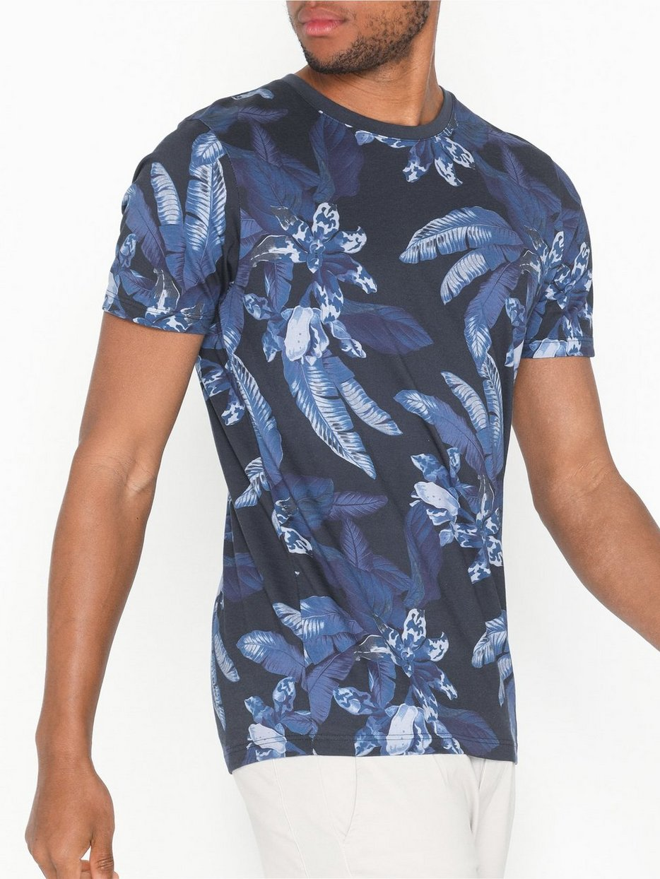 SLHASHER AOP SS O-NECK TEE B