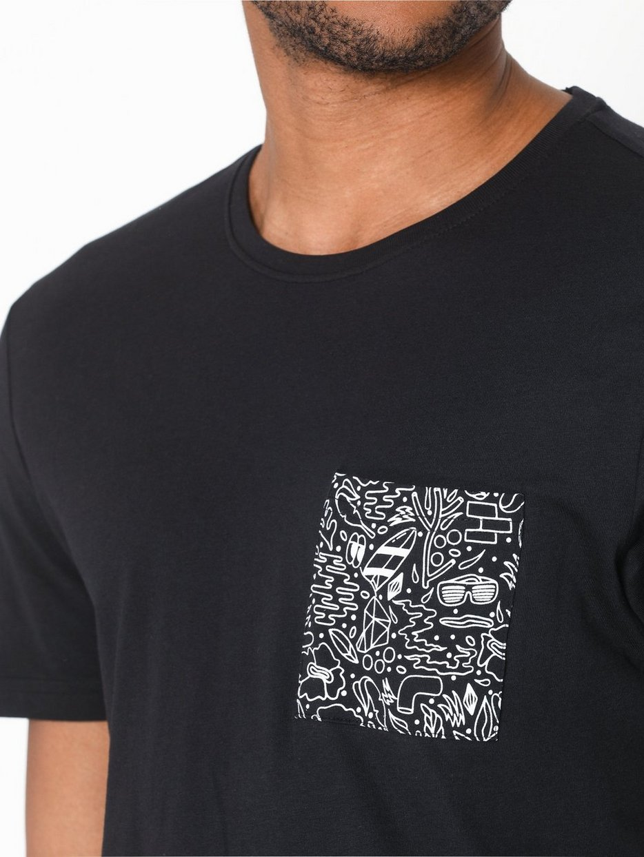 onsPETOSKEY SS FITTED TEE CAMP