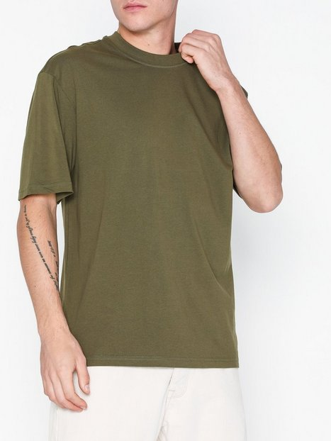Only Sons Onscameron Ovz Ss Tee Vd T shirts undertrøjer Mørkegrøn mand køb billigt