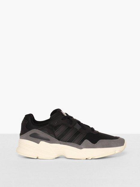 Adidas Originals Yung 96 Sneakers tekstilsko Black mand køb billigt