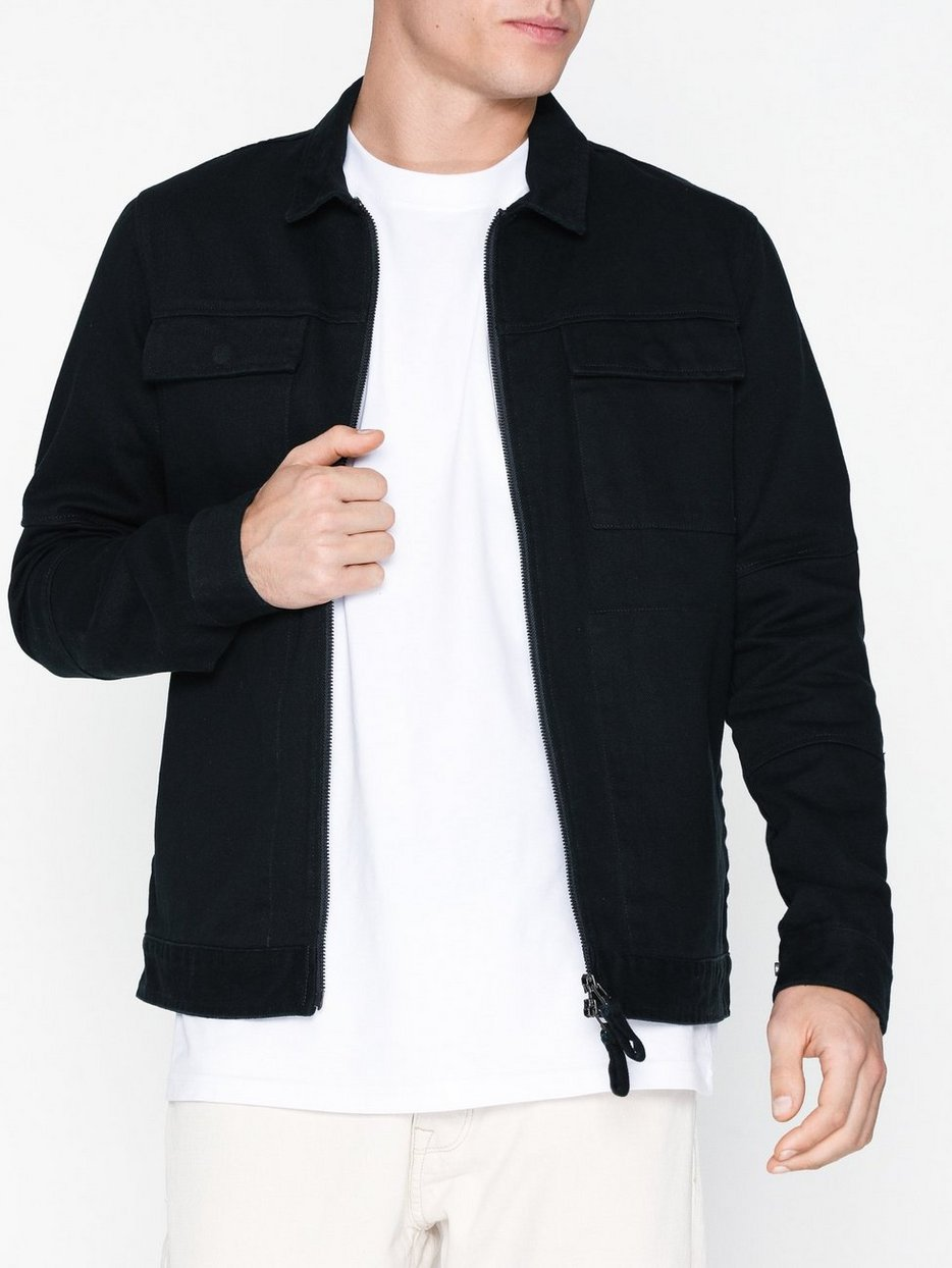 SLHKEV TWILL WORKER JACKET W